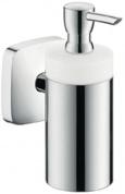 Подробнее о Дозатор Hansgrohe Puravida 41503000 для жидкого мыла настенный хром / керамика белая