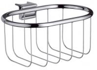 Подробнее о Мыльница решетка Hansgrohe Ax Montreux 42066000 настенная хром / стекло