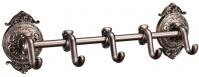 Подробнее о Крючки Hayta Gabriel 13902-5/VBR на планке (5 шт Antic Brass (состаренная латунь