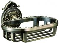 Подробнее о Мыльница-решетка Hayta Gabriel  13904/BRONZE подвесная бронза