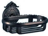 Подробнее о Мыльница-решетка Hayta Gabriel 13904/VBR подвесная Antic Brass (состаренная латунь