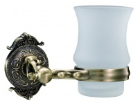 Подробнее о Стакан Hayta Gabriel 13905-1/BRONZE подвесной бронза/стекло