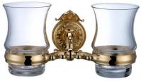 Подробнее о Стакан Hayta Gabriel 13905G/GOLD подвесной двойной золото/стекло