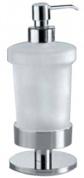 Подробнее о Дозатор для мыла Inda Touch  A 4667Z CR настольный хром / стекло матовое