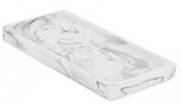 Подробнее о Подставка Kassatex Arabesco White/Black AAB-TR-WB настольная цвет белый мрамор