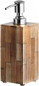 Подробнее о Дозатор Kassatex Bali Bone ABA-LD настольный цвет коричневый/хром