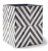 Подробнее о Корзина Kassatex Bristol ABI-WB для мусора цвет белый/серый
