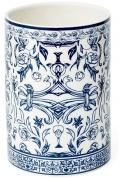Подробнее о Стакан Kassatex Orsay Blue AOR-T-BLU настольный цвет белый с узором