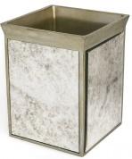 Подробнее о Корзина Kassatex Palazzo Vintage Mirror APL-WB для мусора цвет серый