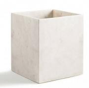 Подробнее о Корзина Kassatex Pietra APT-WB для мусора цвет белый