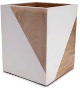 Подробнее о Корзина Kassatex Tahoe ATH-WB для мусора цвет белый