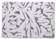 Подробнее о Коврик Kassatex Foglia GREY FGR-230-G для ванны 51 х 76 см цвет белый/серый