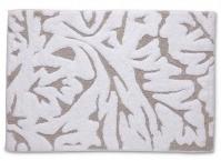 Подробнее о Коврик Kassatex Foglia Taupe FGR-230-T для ванны 51 х 76 см цвет белый/бежевый