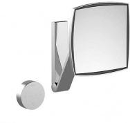 Подробнее о Зеркало Keuco iLook move 17613.019002 с подсветкой косметическое (5X) настенное хром
