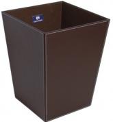 Подробнее о Корзина для белья Koh-i-Noor Eco Pelle 2603 DB 23 х h30 х 23 см цвет темно-коричневый