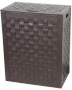 Подробнее о Корзина для белья Koh-i-Noor Intrecci 2963 DB 48,5 х h60,5 х 30,5 см цвет темно-коричневый