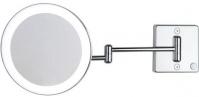 Подробнее о Зеркало Koh-i-Noor Spekhio Discololed 36/2KK2 косметическое 31 х h23 см (2X настенное хром