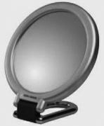 Подробнее о Зеркало Koh-i-Noor 387 KN-3 косметическое 15 х h28 см (3X) настольное хром