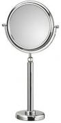 Подробнее о Зеркало Koh-i-Noor Spekhio Doppiolo 45/2KK2 косметическое диам. 23 см (2X настольное хром