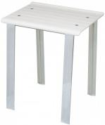 Подробнее о Стульчик Koh-i-Noor Leo 5370 V для душевой кабины душа цвет сиденья белый