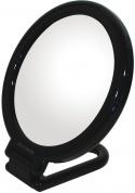 Подробнее о Зеркало Koh-i-Noor Toeletta  SC152-3 N косметическое 14 х h16,5 см (3X настольное цвет рамы черный