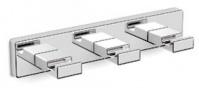 Подробнее о Крючки Langberger Alster 10933A на планке (3 штуки хром