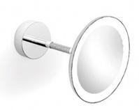 Подробнее о Зеркало косметическое Langberger  71285 с подсветкой настенное 20 х h20 см хром
