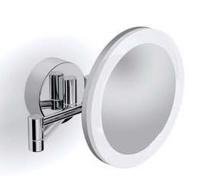 Подробнее о Зеркало косметическое Langberger  71785 с подсветкой настенное 22 х h20 см хром