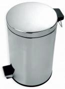 Подробнее о Ведро Linisi 71076 для мусора напольное (8 литров) хром