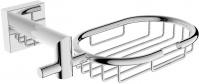 Подробнее о Мыльница-решетка Linisi Cubo 810011 -B подвесная хром
