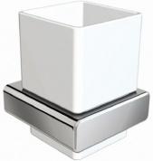 Подробнее о Стакан Linisi Opera 81884 подвесной хром / керамика белая