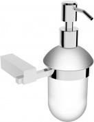 Подробнее о Дозатор для мыла Linisi Sigma 83585F-B подвесной хром / стекло