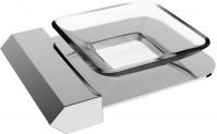 Подробнее о Мыльница Linisi Linea 87785 настольная хром / стекло матовое