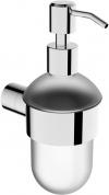Подробнее о Дозатор для мыла Linisi Alfa 87885F подвесной хром / стекло матовое