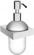 Подробнее о Дозатор для мыла Linisi Murano 89285F подвесной хром / стекло матовое