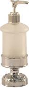Подробнее о Дозатор для мыла Magliezza Fiore 80109-CR настольный хром/стекло