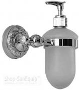 Подробнее о Дозатор для мыла Magliezza Primavera 80313-CR настенный хром/стекло