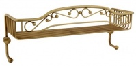 Подробнее о Полка-решетка Migliore Complementi CS.COM-50.701.CR с двумя крючками хром