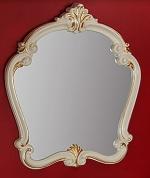 Подробнее о Зеркало Migliore Bella  ML.BLL-SP.454.AV.DO фигурное 95 х h107 см  цвет слоновая кость/золото