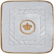 Подробнее о Коврик Migliore Complementi ML.COM-50.060.BI.24 для ванны (узор 2) 60 х 60 см цвет белый с вышивкой `корона` золото