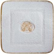 Подробнее о Коврик Migliore Complementi ML.COM-50.060.BI.61 для ванны (узор 6) 60 х 60 см цвет белый с вышивкой `логотип Migliore` золото