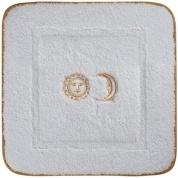 Подробнее о Коврик Migliore Complementi ML.COM-50.060.BI.62 для ванны (узор 6) 60 х 60 см цвет белый с вышивкой `Солнце/Луна` золото
