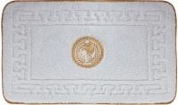 Подробнее о Коврик Migliore Complementi ML.COM-50.100.BI.53 для ванны (узор 5) 60 х 100 см цвет белый с вышивкой `Афина` золото