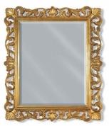 Подробнее о Зеркало Migliore Complementi  ML.COM-70.704.DO.AG 85 х h100 см цвет рамы золото/серебро