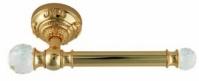 Подробнее о Бумагодержатель Migliore Cristalia ML.CRS-60.205.DO открытый золото/Swarovski