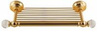 Подробнее о Полотенцедержатель Migliore Cristalia ML.CRS-60.215.DO полка золото/Swarovski