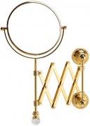 Подробнее о Зеркало Migliore Cristalia ML.CRS-60.219.DO косметическое настенное золото/Swarovski