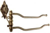 Подробнее о Полотенцедержатель Migliore (Миглиоре Elisabetta ML.ELB-60.124.BR двойной поворотный длина 45 см бронза