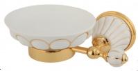 Подробнее о Мыльница Migliore Olivia ML.OLV-60.601.BO.DO настенная цвет золото / керамика (декор золото