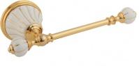 Подробнее о Бумагодержатель Migliore Olivia ML.OLV-60.605.BO.DO без крышки золото / керамика (декор золото
